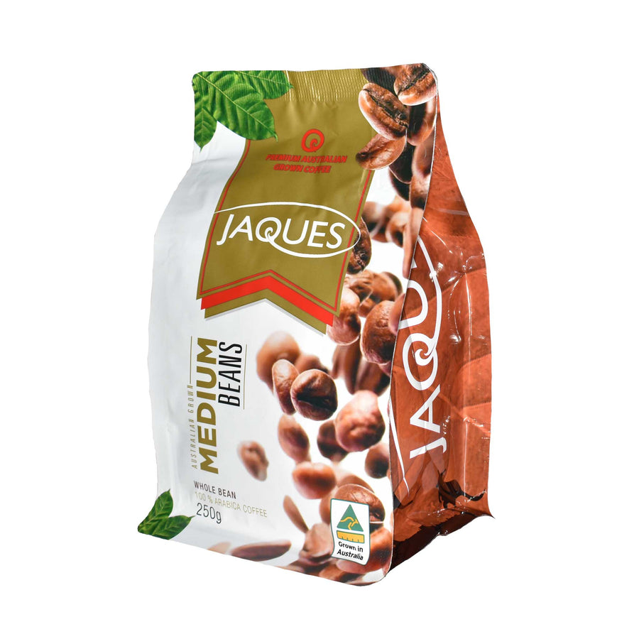 250g Jaques Medium Roast - Beans