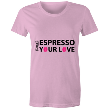 Espresso Your Love - Sportage Surf - Womens T-shirt