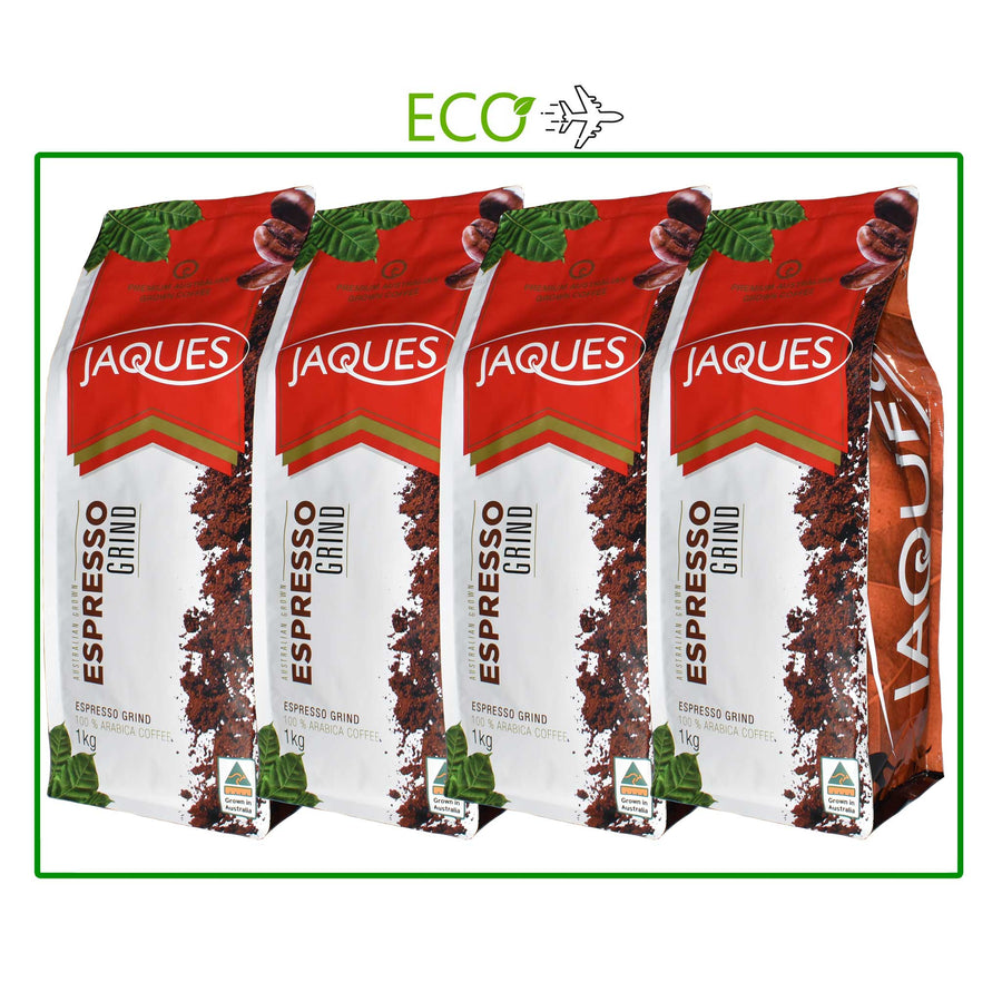 Express Box 4 x 1Kg Jaques Coffee (4 types avail)
