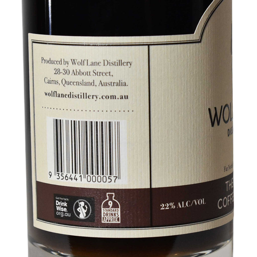 The Barista Coffee Liqueur - Wolf Lane Distillery - 500ml