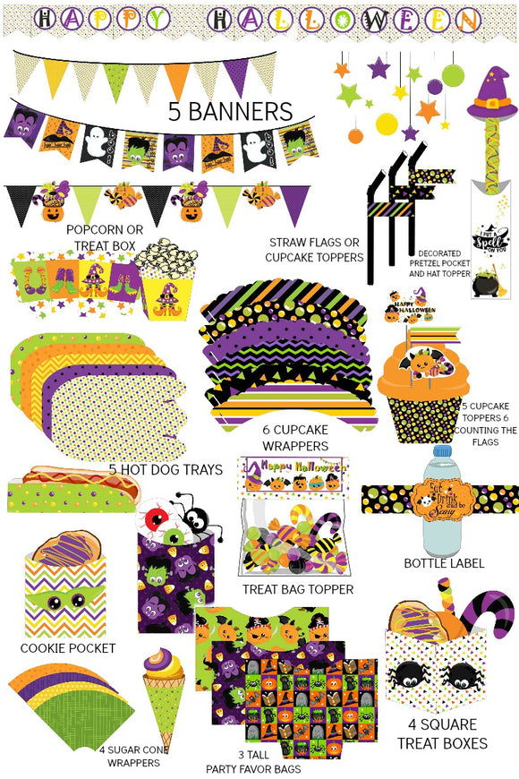 Kids Halloween Party Supplies