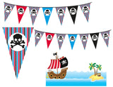 Pirate Loot Bag Party Favor Box And Coin Tag *SET* Instant Digital Download Pirate Birthday Party