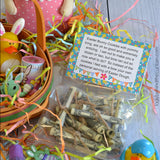 Easter Basket Dough Gift Topper Digital PDF Instant Download