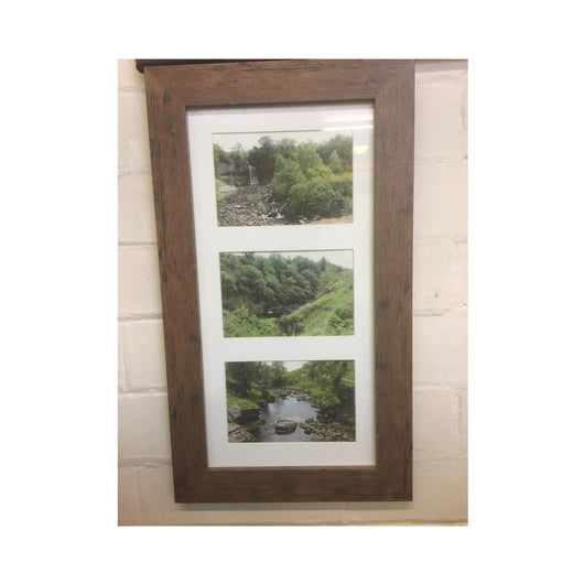 16x8 inch walnut finish frame - whitworthprints