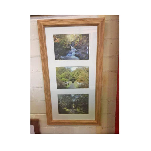 20 x 10 inch wood Photo frame - whitworthprints