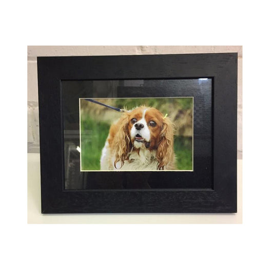 8x6 Black wood Photo frame - whitworthprints