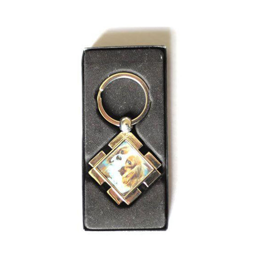 Diamond Shaped Keyring - whitworthprints