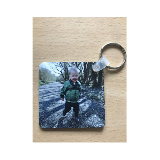 Double Sided Square Keyring - whitworthprints