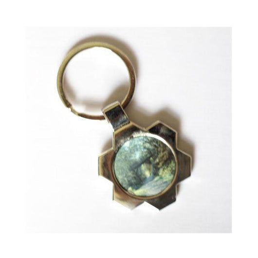 Flower Shaped Keyring - whitworthprints