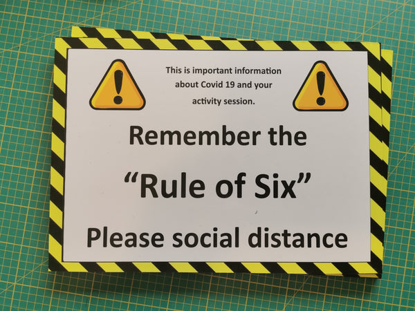 A3 dibond laminated signs - whitworthprints