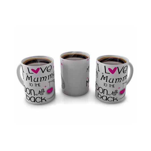 I Love my Mummy to the Moon and Back Mug - whitworthprints