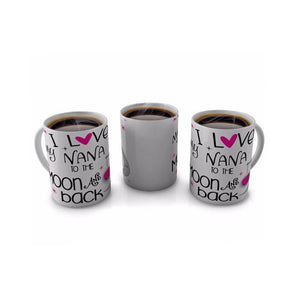 I Love my Nana to the Moon and Back Mug - whitworthprints