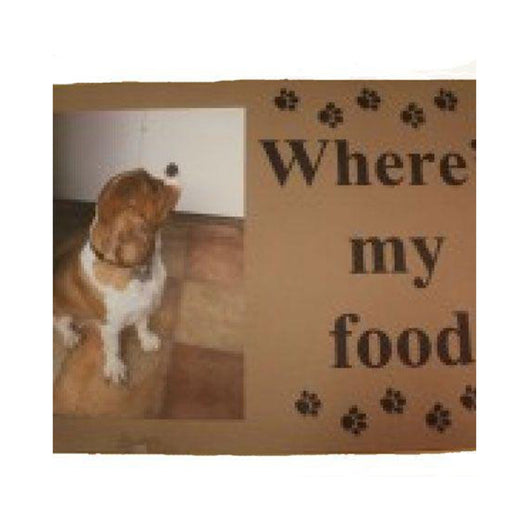 Personalised Pet mat. - whitworthprints