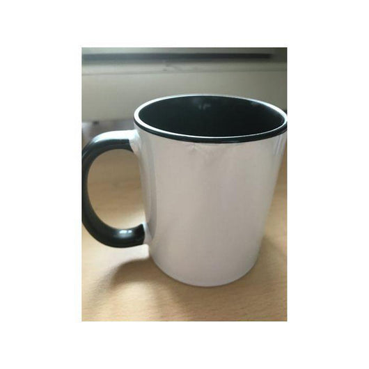 Personalised Photo Mug Black two tone(11oz) - whitworthprints