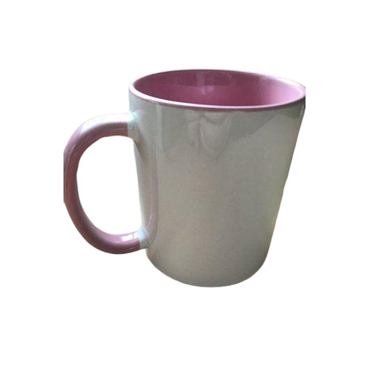 Personalised Photo Mug Pink two tone(11oz) - whitworthprints