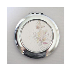 Round compact mirror. - whitworthprints