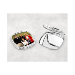 Square shaped compact mirror. - whitworthprints