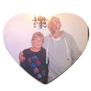 Heart shaped mouse mat. - Whitworth Prints - Photo Gifts from your pictures
