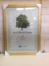 A2 Light wood photo frame - whitworthprints