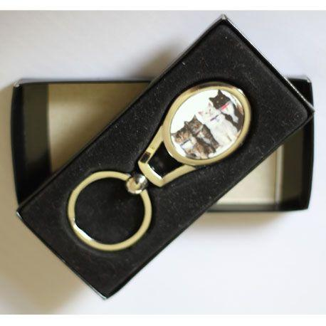 Oval Keyring - whitworthprints
