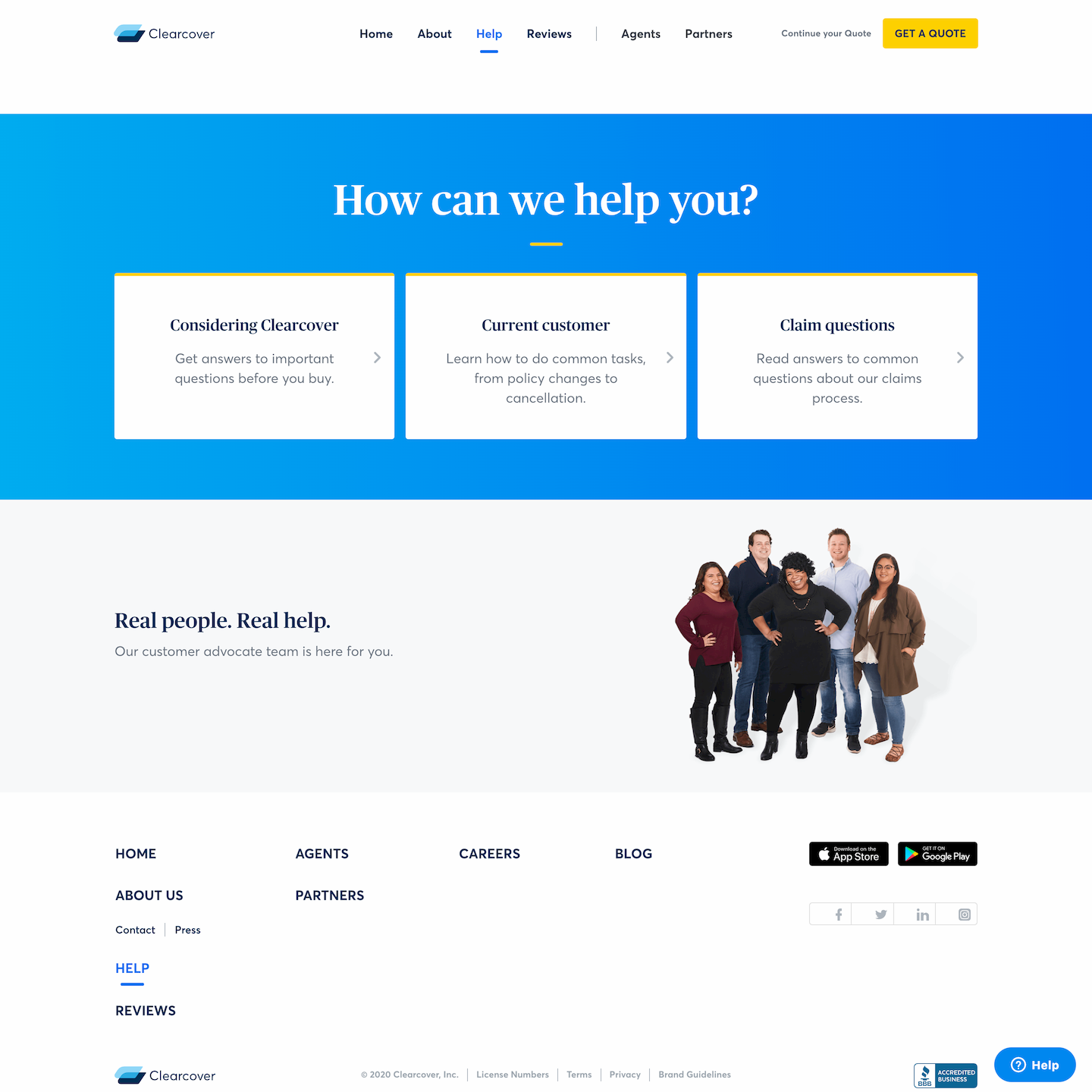 branded Zendesk for Clearcover