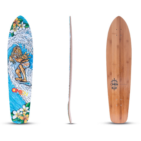 Omen: King Surf Longboard Deck