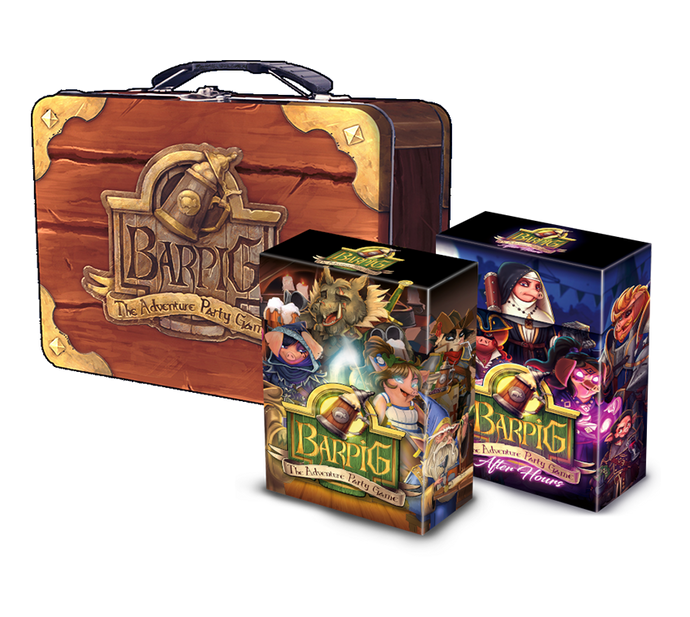 BARPIG Lunchbox (containing both game)