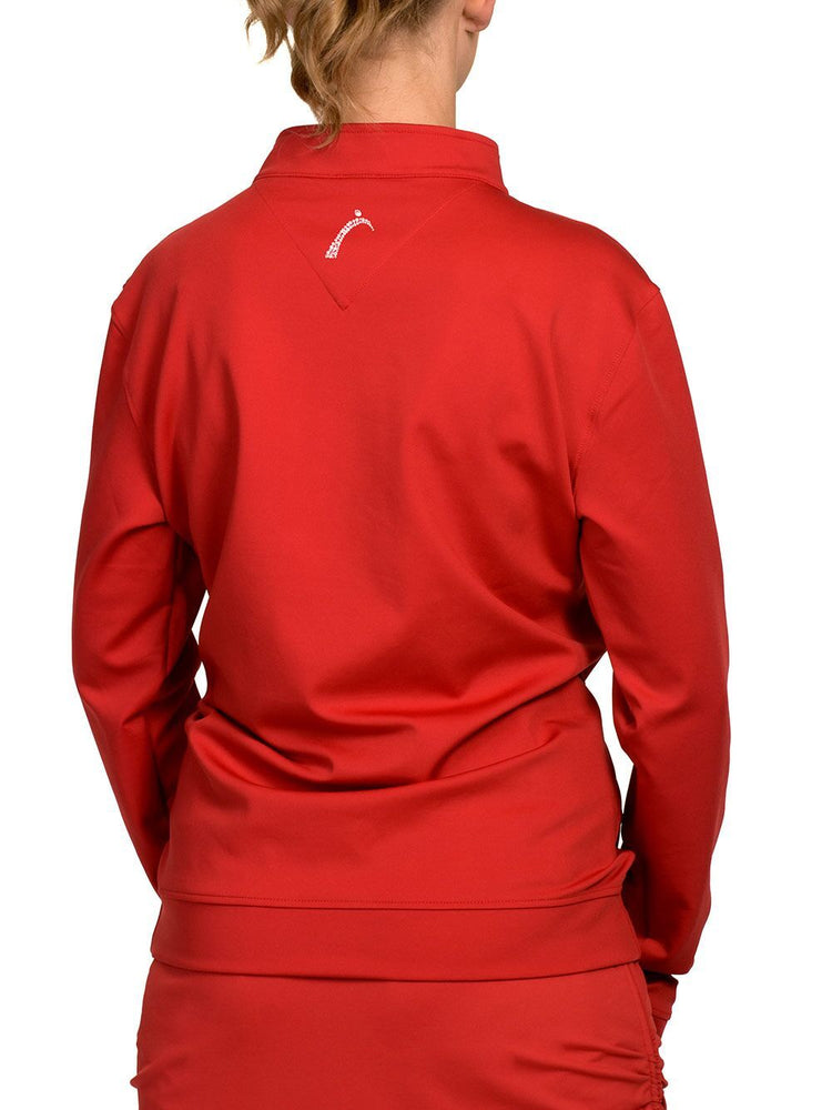 Boyfriend Pullover Red - SwingDish