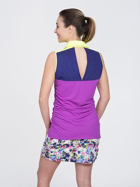Neon Sleeveless - Purple Combo
