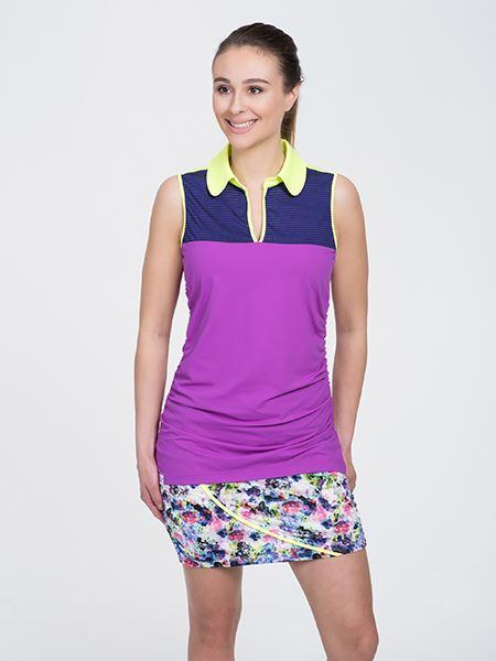 Neon Sleeveless - Purple Combo - SwingDish