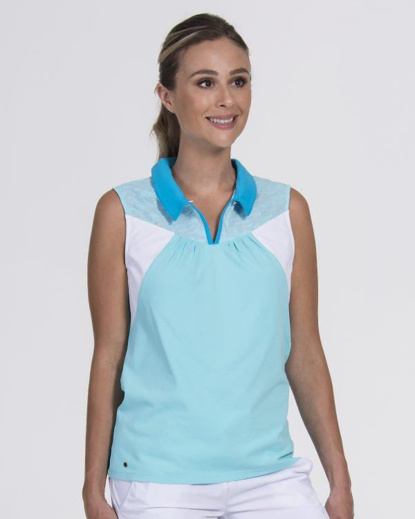 Resort Sleeveless Polo