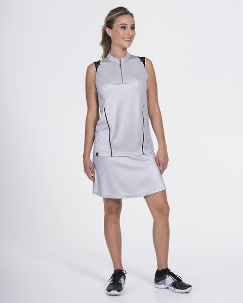 Signature Sleeveless Silver/Black - SwingDish
