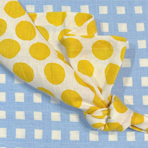 Napkin - Polka Dot Yellow | Set of four