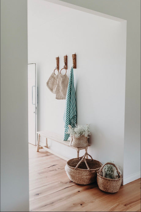 Hand Loomed Towel | Jade