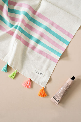 Tropez Turkish Towel - Candy