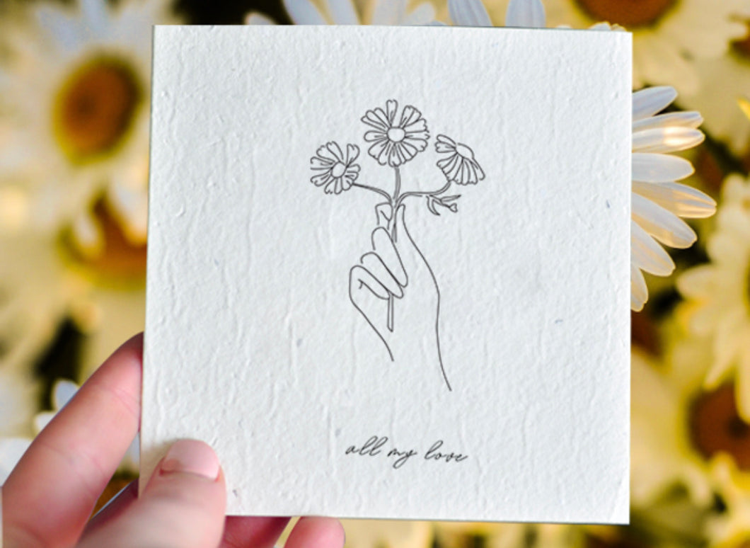 All My Love Plantable Gift Card