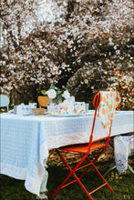 Load image into Gallery viewer, Tablecloth | Gingham Chambray