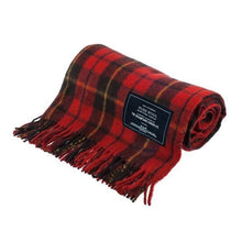 Load image into Gallery viewer, Rebellion | Recycled Wool Scottish Tartan Blanket