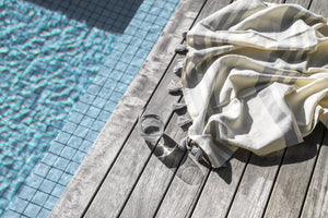 Malta Turkish Towel - Grey