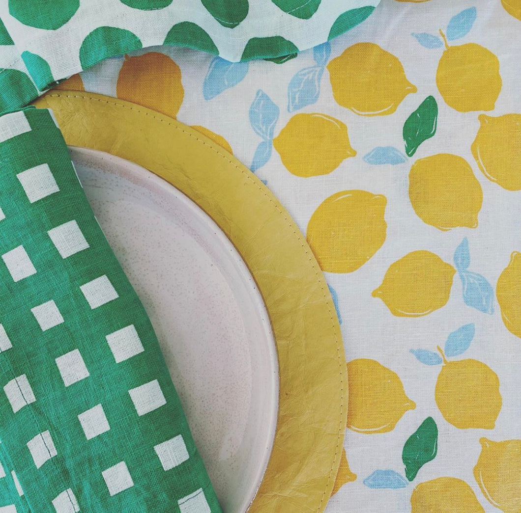 Table Runner | Lemon