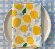 Load image into Gallery viewer, Table Runner - Gingham | Chambray