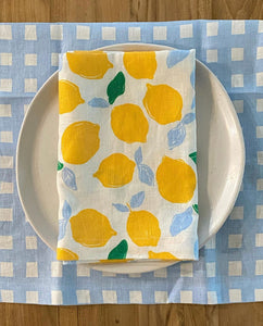 Napkin - Lemon | Set of four