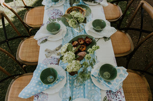 Table Runner - Gingham | Chambray