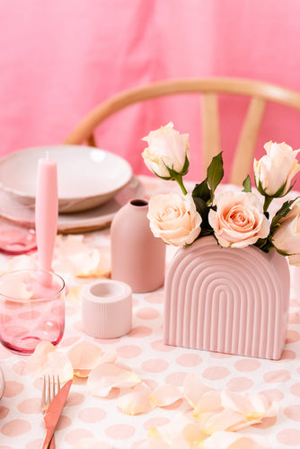 Tablecloth | Polka Dot Tulle Pink