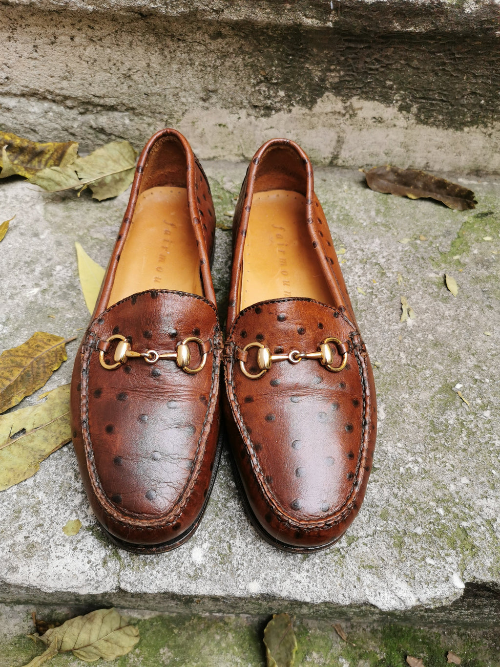 moccassins marron
