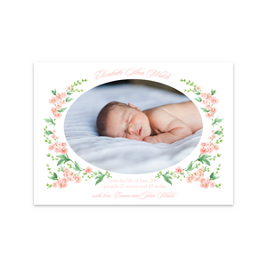 Birth Announcements | Custom Illustration