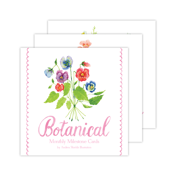 Milestone Cards | Botanical Bouquets