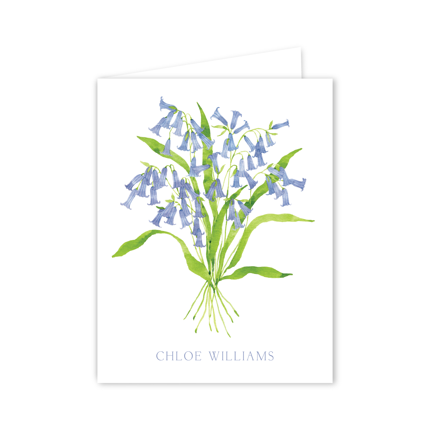 Blue Bells Notecards | Botanical Bouquets