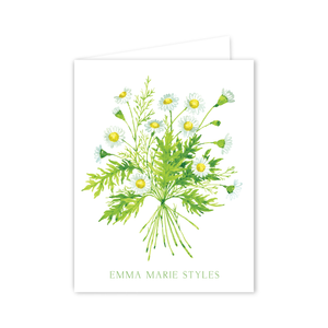 Chamomile Notecards | Botanical Bouquets