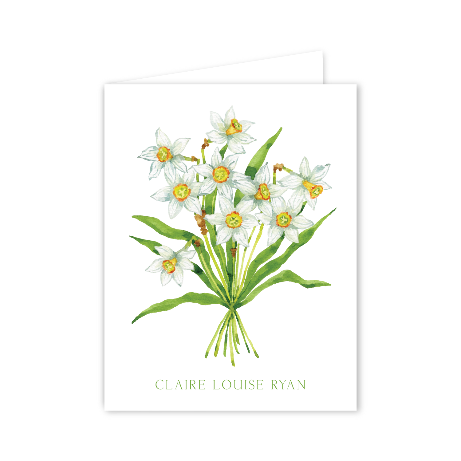 Daffodils Notecards | Botanical Bouquets